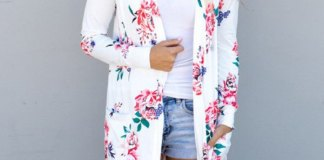 best floral cardigan outfit ideas for women