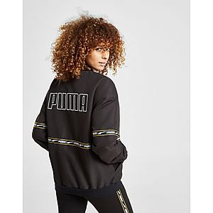 black oversized windbreaker with matching running pants