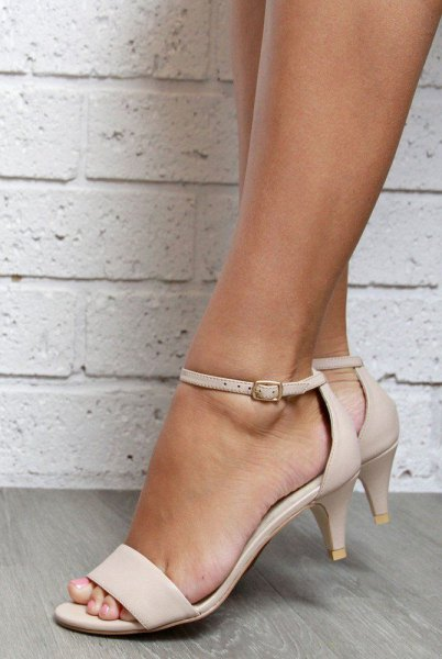 dark pink kitten heels