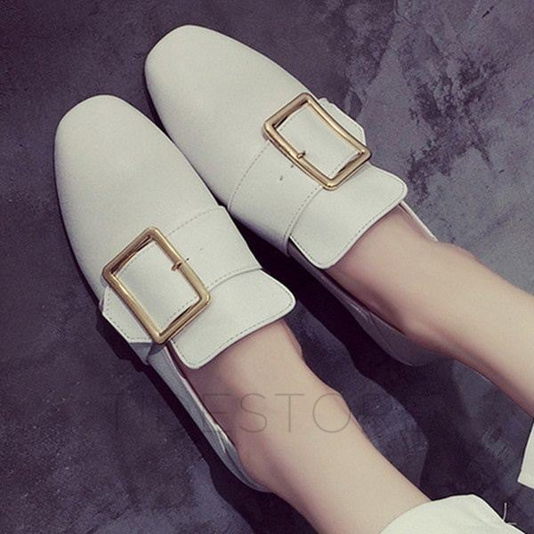 white loafers with wide leg linen pants
