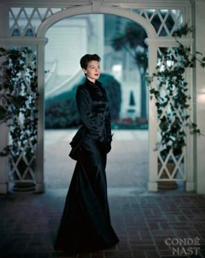 Ava Gardner in Blue Satin