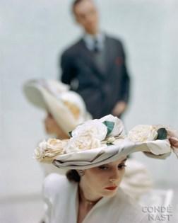 Broad Flowered Hat