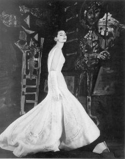 1954 ann nutting - dior