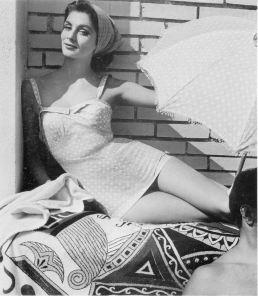 1954 suzy parker - fath