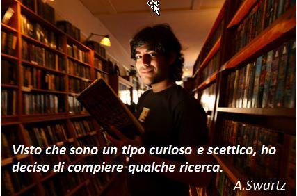 curioso e scettico - Aaron Swartz