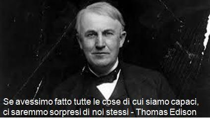 Edison e capacità dell'uomo