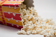 popcorn movie photo