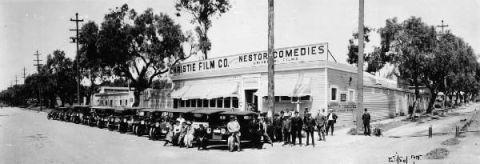 I Nestor Studio iniziarono a girare un western nel 1911