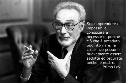 Italian chemist and writer Primo Levi (1919-1987).