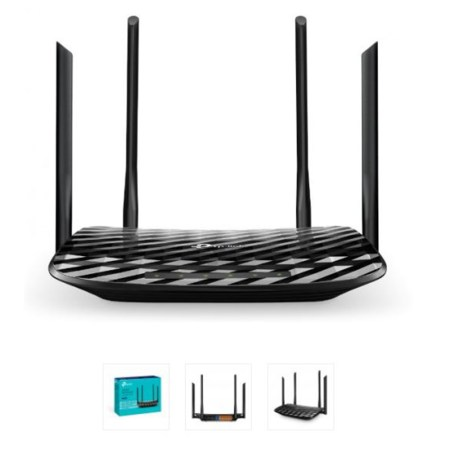 TP Link Archer C6 Wireless Router MU-MIMO Gigabit