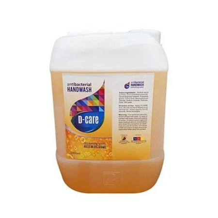 D-CARE HAND WASH Refreshing Scent (5000 ml)