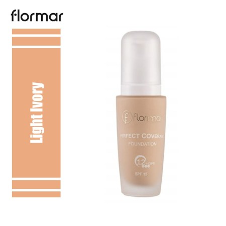 Flormar Perfect Coverage Foundation Light Ivory