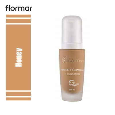 Flormar Perfect Coverage Foundation Honey