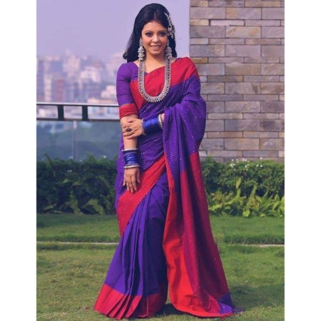 Chumki cotton saree-15