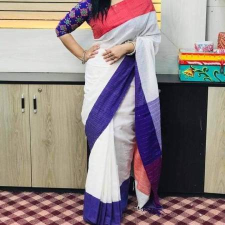Chumki cotton saree-1