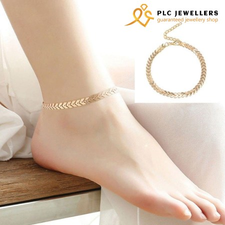 """Fine Ankle Bracelet Cheville Barefoot Sandals Chain Payel """