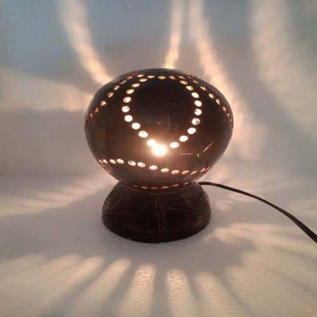 Coconut Shell Round Shape Lampshade