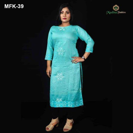 Exclusive Cotton Kurti for Women's (MFK-39)