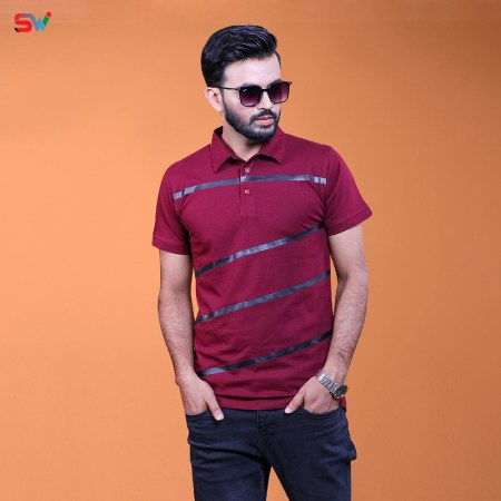 Men's Short Sleeve Polo Shirt (6100PO)