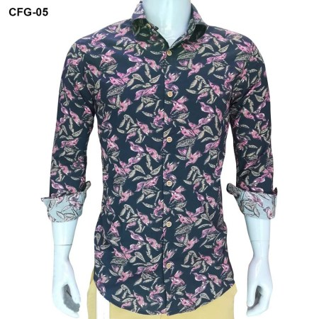 Multi-Color Casual Shirt  For Men CFG-05