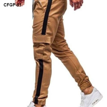 Brown Color Cargo Joggers Pant CFGP-01