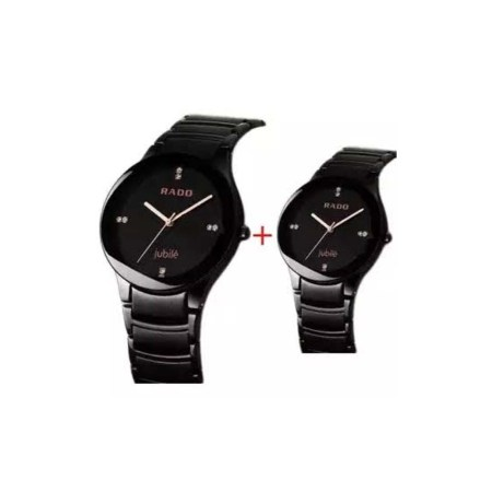 Combo Offer Smart Analog Couple Watch For Men And Women (PZ-01)