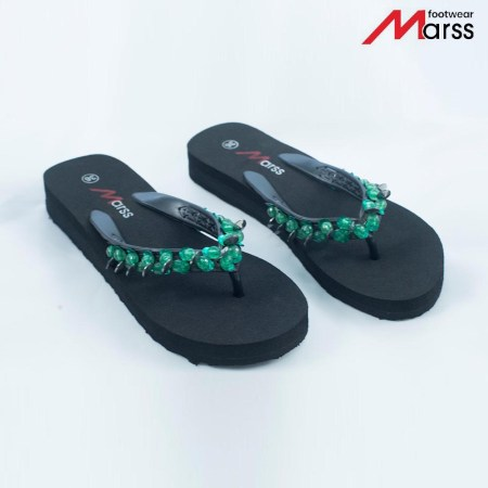 Green Color Women Meed Hill Pairs For Women (MS 12)