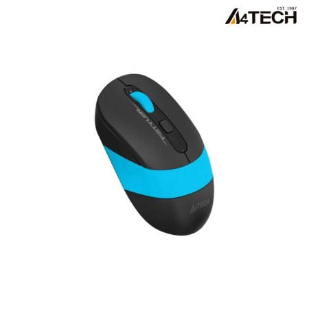 A4tech FM10 Fstyler Wired Optical Mouse (Black-Blue)