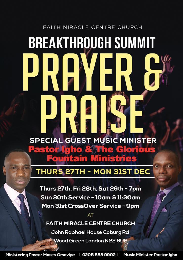 Prayer Praise Revival