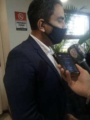 Cornejo declara a la prensa la conformidad de la interpelación