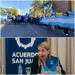 Aubone: «Sostenemos y promovemos el diálogo y el consenso»