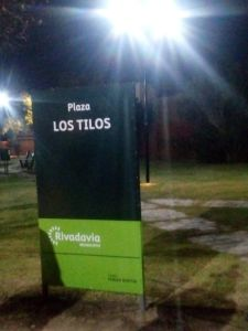 Luminarias Led y obras en Barrio Natania IV