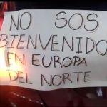 """EN PICADA: Al grito de """"que se vaya"""", una protesta recibió a Fernández en Salta"""