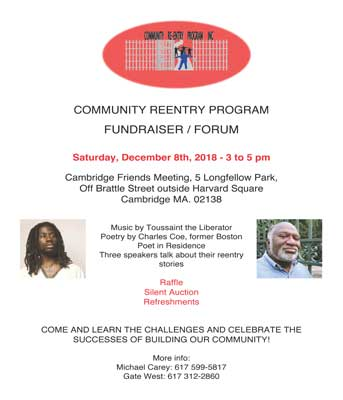 Community Re-Entry Program Fundraiser
