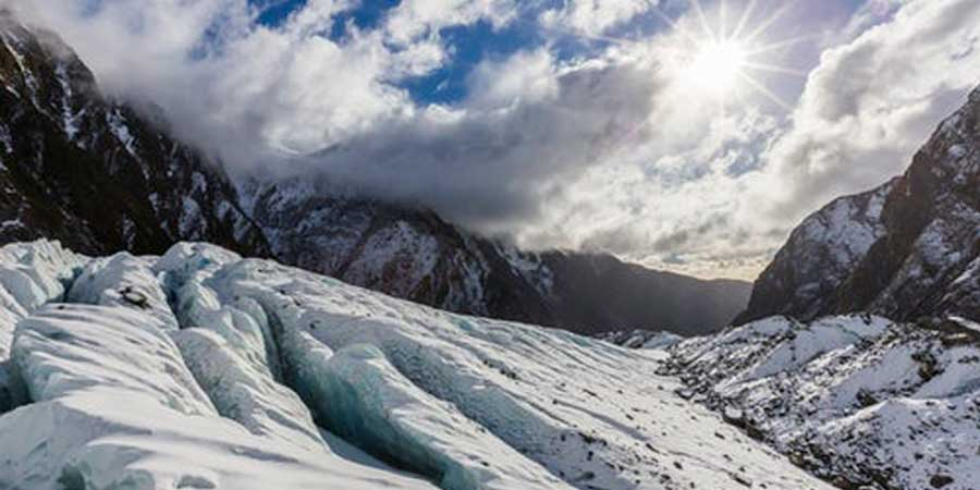 climate disruption glacier
