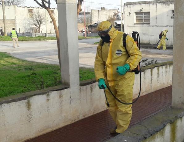 Continúa el trabajo de detección temprana de coronavirus en Cacharí