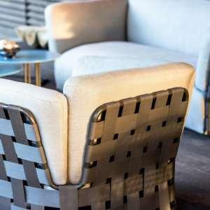 obi lounge chair beige varaschin