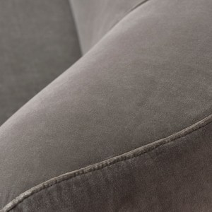 grace 2 seater sofa beige detail