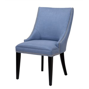 Bermuda dining chair light blue Eichholtz