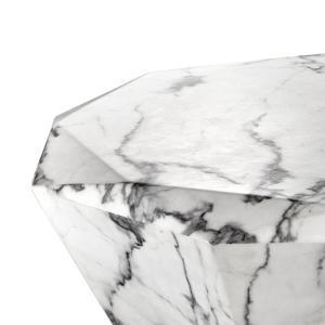 Diamond coffee table white 2 Eichholtz