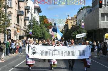 Desfile de Cierre de la Dainų Šventė1