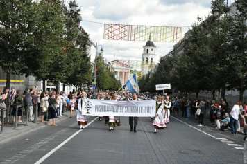 Desfile de Cierre de la Dainų Šventė2