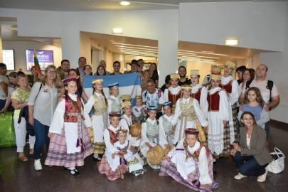 Recibimiento en Aeropuerto de Vilnius