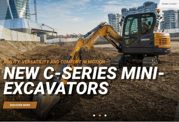 CASE launches new responsive website to offer a user-friendly, interactive experience | CASE Construction Equipment