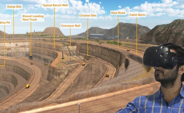 Virtual Reality Simulation System for Underground Mining Project