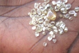 Well over 30,000 diamond stones seized in ongoing transparency operation in Angola
