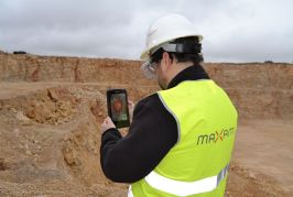 MAXAM presents the X-BLASTERGUIDE, its new mobile application to help improve productivity and safety in blasting operations