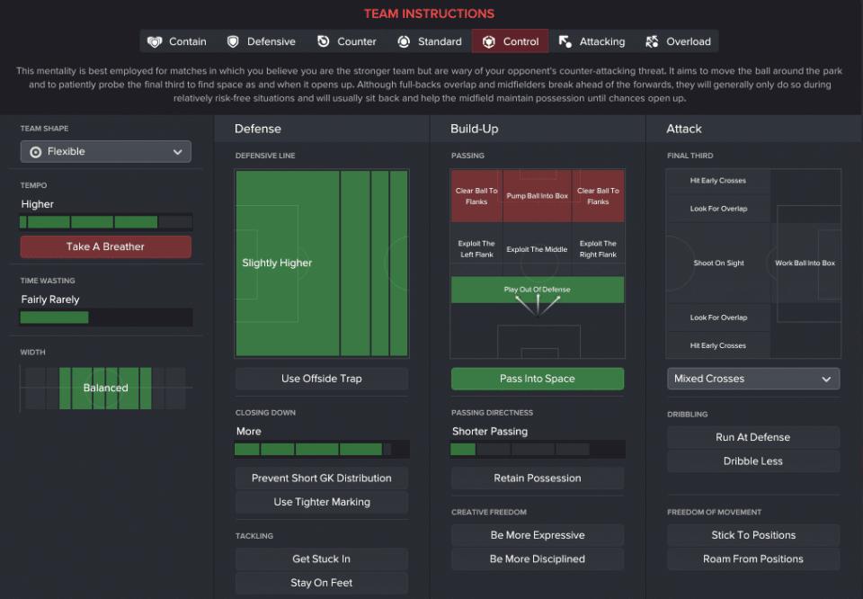 Victorious 433 Wide - Chỉ đạo đội bóng - TeamInstructions