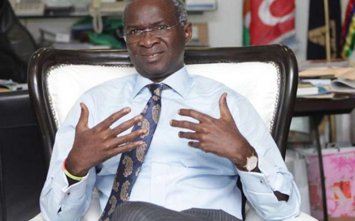 Fashola Underscores Importance Of Data In Development Issues