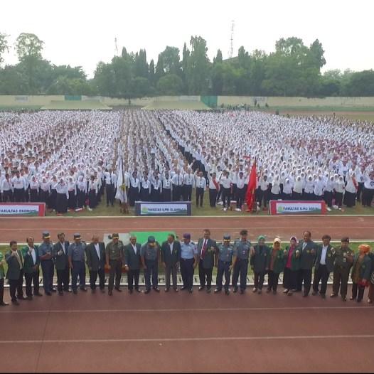 6.258 Mahasiswa Baru UNJ mengikuti Masa Pengenalan Akademik 2017